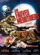 Black Zoo - French Movie Poster (xs thumbnail)