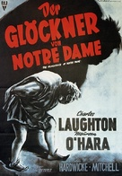 The Hunchback of Notre Dame - German Movie Poster (xs thumbnail)