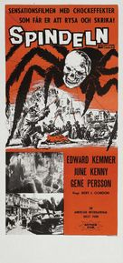 Earth vs. the Spider - Swedish Movie Poster (xs thumbnail)