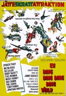 It's a Mad Mad Mad Mad World - Swedish Movie Poster (xs thumbnail)