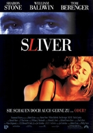 Sliver - German Movie Poster (xs thumbnail)