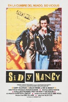 Sid and Nancy - Spanish Movie Poster (xs thumbnail)