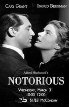Notorious - Re-release movie poster (xs thumbnail)