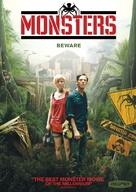 Monsters - DVD cover (xs thumbnail)