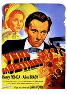 Young Mr. Lincoln - French Re-release movie poster (xs thumbnail)