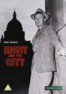 Night and the City - British DVD movie cover (xs thumbnail)