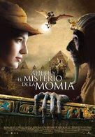 Les aventures extraordinaires d'Adèle Blanc-Sec - Spanish Movie Poster (xs thumbnail)