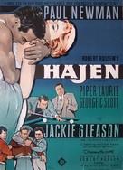 The Hustler - Danish Movie Poster (xs thumbnail)