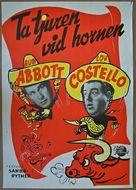 Mexican Hayride - Swedish Movie Poster (xs thumbnail)