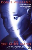 Bicentennial Man - German VHS movie cover (xs thumbnail)