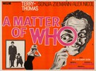 A Matter of WHO - British Movie Poster (xs thumbnail)