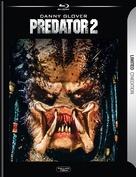 Predator 2 - German Blu-Ray movie cover (xs thumbnail)
