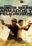 2 Guns - Colombian Movie Poster (xs thumbnail)