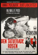 The Rose Tattoo - Swedish Movie Poster (xs thumbnail)