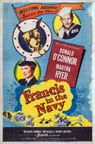 Francis in the Navy - Movie Poster (xs thumbnail)