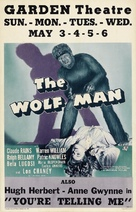 The Wolf Man - Movie Poster (xs thumbnail)