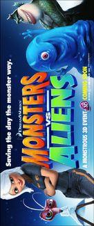 Monsters vs. Aliens - British Movie Poster (xs thumbnail)