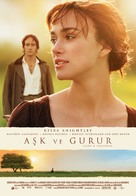 Pride & Prejudice - Turkish Movie Poster (xs thumbnail)