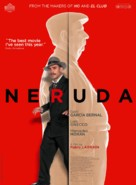 Neruda - Belgian Movie Poster (xs thumbnail)