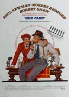 The Sting - German Movie Poster (xs thumbnail)