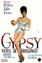 Gypsy - French Movie Poster (xs thumbnail)