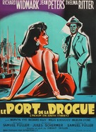 Pickup on South Street - French Movie Poster (xs thumbnail)