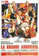 La grande bouffe - Italian DVD movie cover (xs thumbnail)