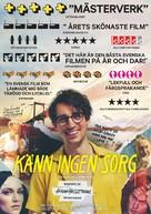Känn ingen sorg - Swedish Movie Poster (xs thumbnail)