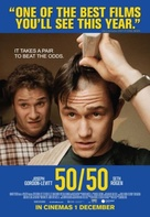 50/50 - British Movie Poster (xs thumbnail)