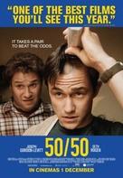 50/50 - British Movie Poster (xs thumbnail)