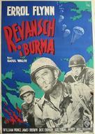 Objective, Burma! - Swedish Movie Poster (xs thumbnail)