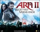 Arn - Riket vid vägens slut - Danish Movie Poster (xs thumbnail)