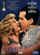 Double Indemnity - Spanish DVD cover (xs thumbnail)