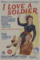 I Love a Soldier - Australian Movie Poster (xs thumbnail)