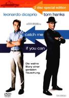 Catch Me If You Can - German DVD movie cover (xs thumbnail)