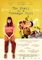 The Diary of a Teenage Girl - Belgian Movie Poster (xs thumbnail)