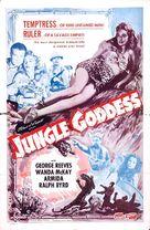 Jungle Goddess - Theatrical movie poster (xs thumbnail)