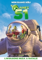 Planet 51 - Italian Movie Poster (xs thumbnail)