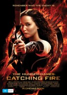 The Hunger Games: Catching Fire - Australian Movie Poster (xs thumbnail)