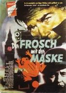Der Frosch mit der Maske - German Movie Poster (xs thumbnail)
