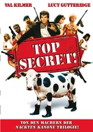 Top Secret - German Movie Cover (xs thumbnail)