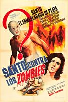 Santo contra los zombies - Spanish Movie Poster (xs thumbnail)