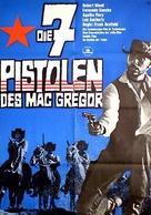 Sette pistole per i MacGregor - German Movie Poster (xs thumbnail)
