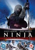 Ninja: Shadow of a Tear - British DVD cover (xs thumbnail)