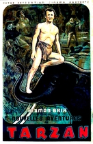 The New Adventures of Tarzan - French Movie Poster (xs thumbnail)