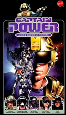 """""""Captain Power and the Soldiers of the Future"""" - VHS movie cover (xs thumbnail)"""