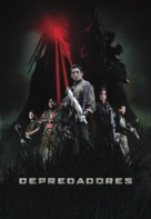 Predators - Colombian Movie Poster (xs thumbnail)