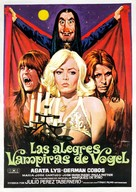 Las alegres vampiras de Vögel - Spanish Movie Poster (xs thumbnail)