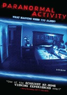 Paranormal Activity - DVD movie cover (xs thumbnail)