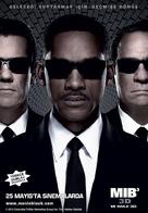Men in Black 3 - Turkish Movie Poster (xs thumbnail)
